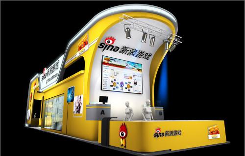 新浪游戏_Chinajoy2010新浪游戏展台提前曝光