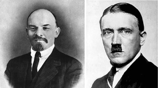 列宁与希特勒