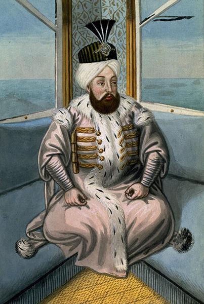 奥斯曼帝国苏丹苏莱曼二世。