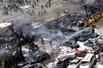 巴格达市中心爆炸袭击现场(组图)