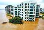 海南文昌老城区被淹近5万人受困