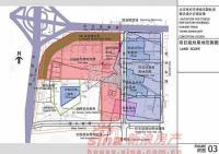 北京华侨城 实景图 规划用地范围图