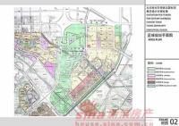 北京华侨城 规划图 区域规划平面图