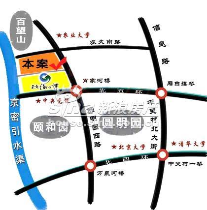 天秀・澄秀园 交通图