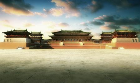 为 大明宫遗址公园规划效果图-大明宫遗址公园规划