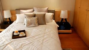 世界村舒适的卧室