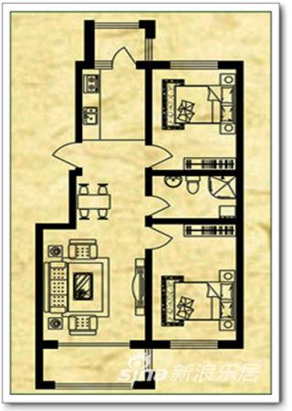 点评两室一厅57平