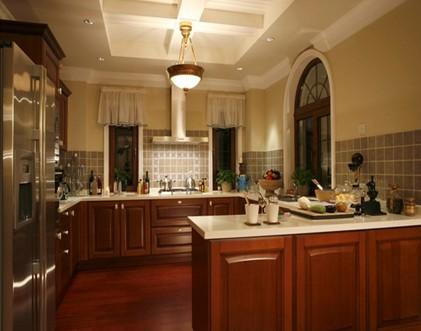样板房厨房图片