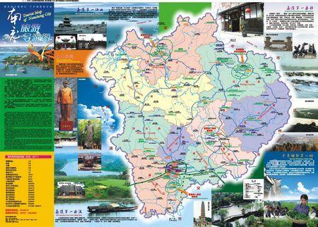 四川旅游地图全图高清版_四川旅游景点分布图
