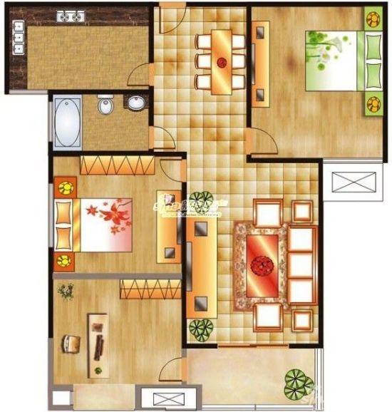 110平方米三房一厅二卫一厨装修一般要预算多少钱