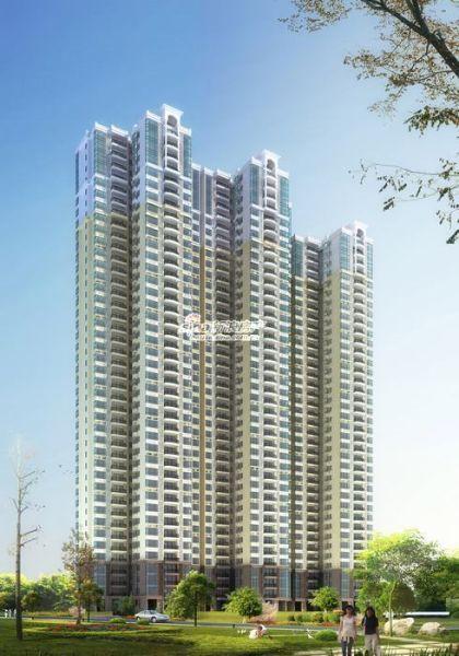 建筑面积近60万平米,将建成集现代欧式建筑和法式