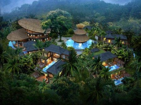 那香山一期主推泰式雨林别墅