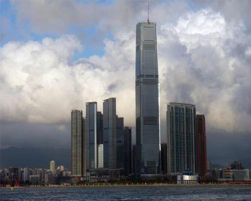 高的建筑 国内十大摩天大楼一睹为快