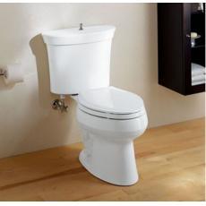 2、占地小的分体座厕
