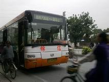 最近的公车站有三路公车