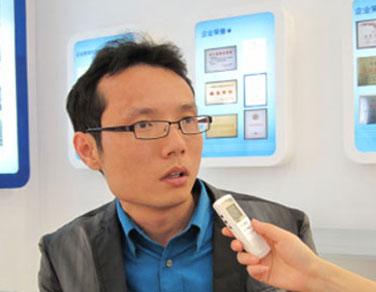 奥克斯上海营销中心经理 李辉