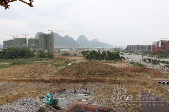 上个高度看桂林 花样年花样城12号楼中央景观高层享花样生活 (2)图片
