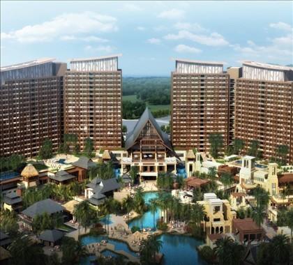 红树林度假酒店效果图
