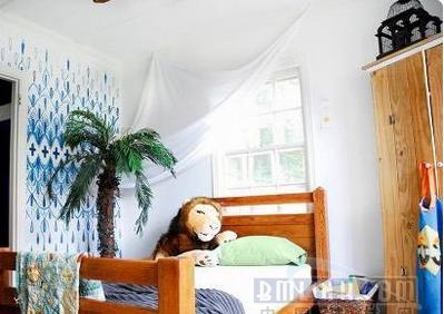 儿童房墙面装饰 让你爱不释手(5)图片