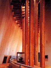 安藤忠雄的木结构建筑