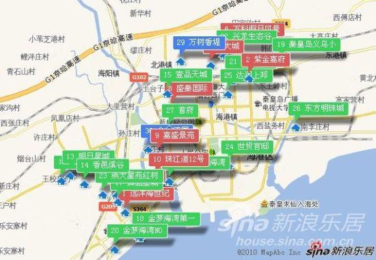 遵化到秦皇岛地图