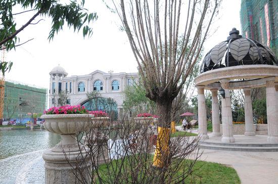 欧式皇家园林,与住宅建筑风格相得益彰