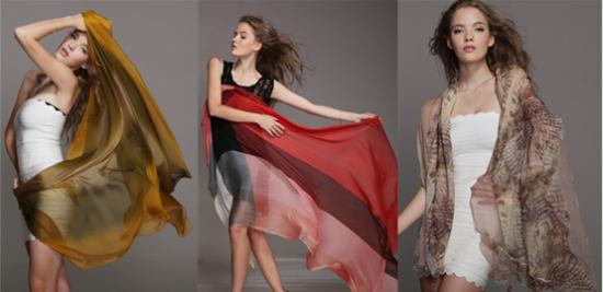 艾维斯丝巾带来风情万种图片