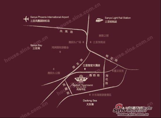 尚海华廷区位图