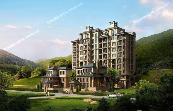 欧式的建筑风格,园林规划设计全力打造出贵阳的精品