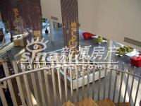 沿海・赛洛城 实景图 俯看售楼大堂