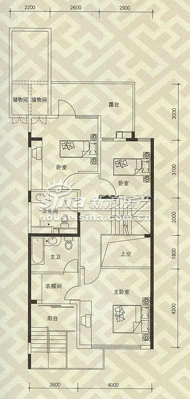 北京洋房 户型展示