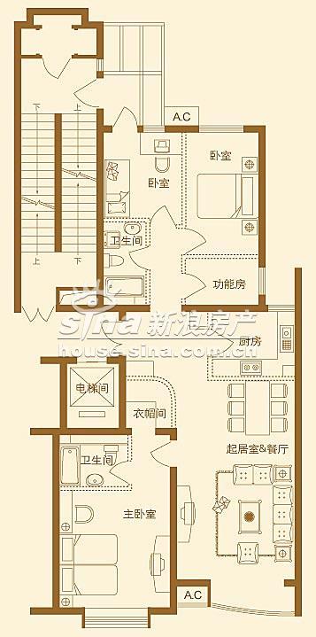 上京新航线 户型展示