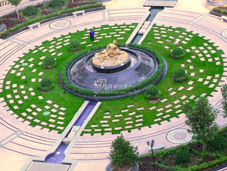 圆形花坛设计图_圆形花坛设计图画法图片