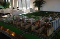 北京华侨城 实景图 沙盘