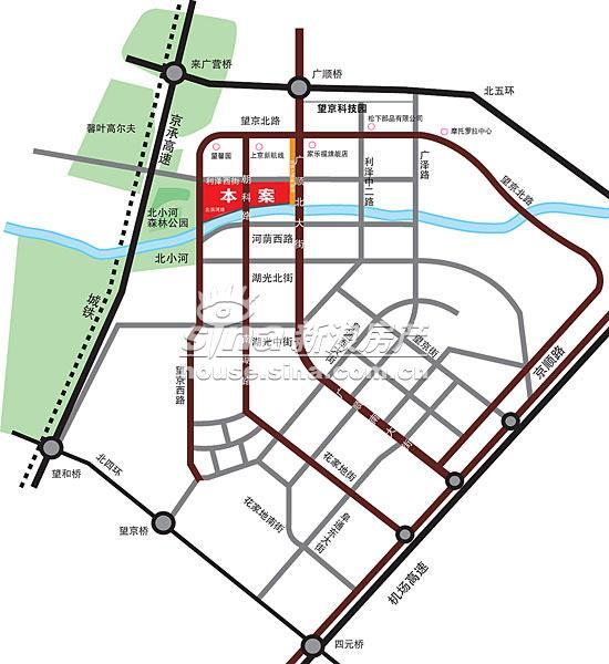 东湖湾 交通图 地图