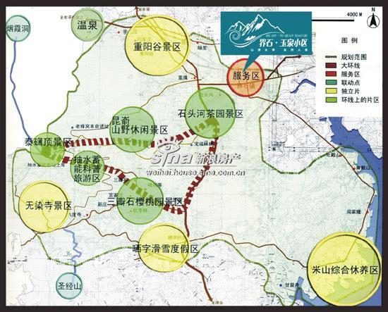 界石·玉泉小区 交通图