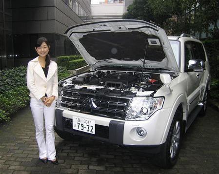 日本三菱汽车明夏投产帕杰罗减税车型(图)