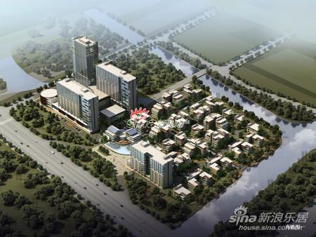 项目位于文一西路延伸段,西溪生态科技岛内,距离杭州主城区约10公里