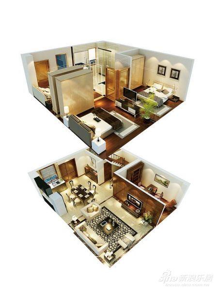 loft 立体设计图