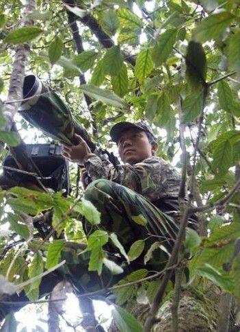 师奚志农两次进入滇南大围山自然保护区和滇西北的独龙江拍摄野生动物