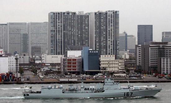 日本媒体称中国军舰访日是跨越日中障碍关键