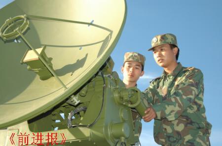 沈阳军区高炮团树标兵增强部队建设活力(图)