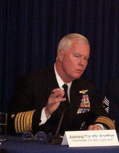 美军高官称台海两岸关系缓和对台军售无急迫性