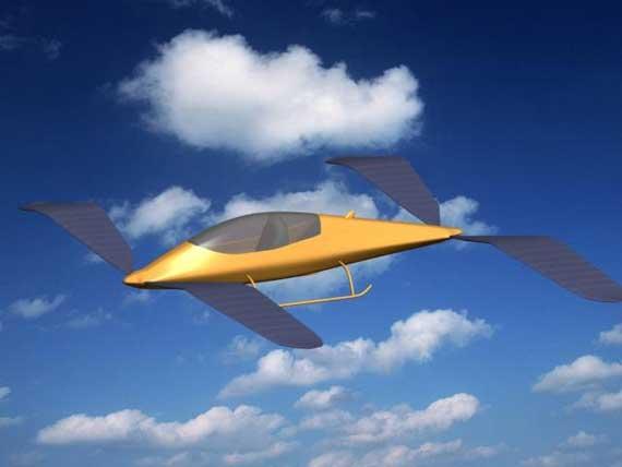 未来高效扑翼系统