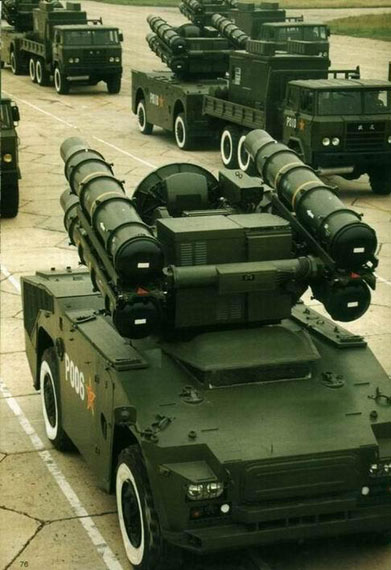 大量装备解放军部队的红旗7低空防空导弹系统