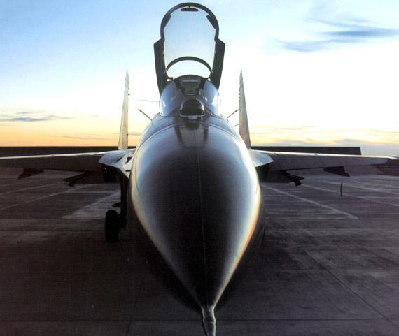 中国空军最新型歼-11B战斗机