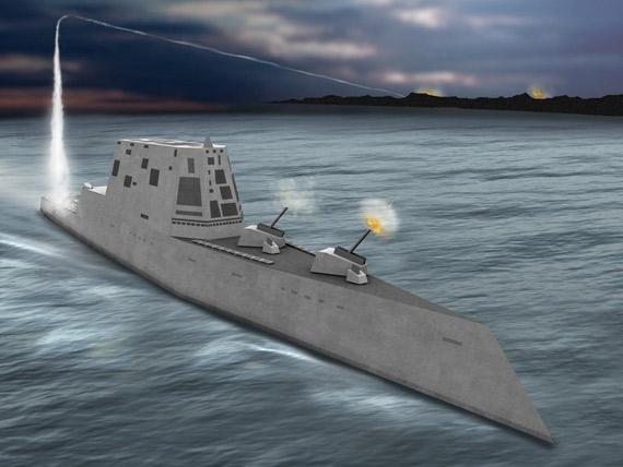 美军已经将原计划建造7艘DDG1000战舰调整为只建造3艘舰