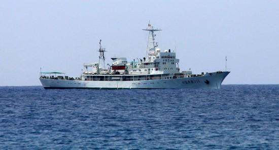 3月17日,中国渔政311船抵达西沙永兴岛。
