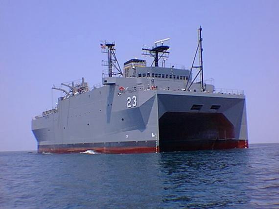资料图:美国海军监测船