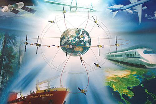 """""""北斗""""系统建成后,将使我国在卫星应用方面摆脱对国外卫星导航系统的依赖。"""